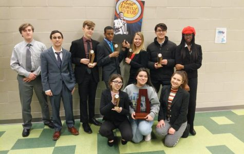 Forensics Team Heads to the State Tournament