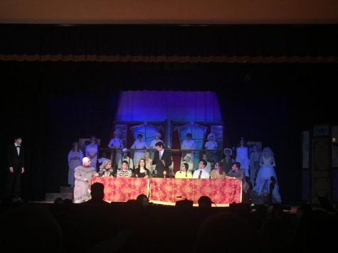 THE ADDAMS FAMILY TAKES THE MHS STAGE