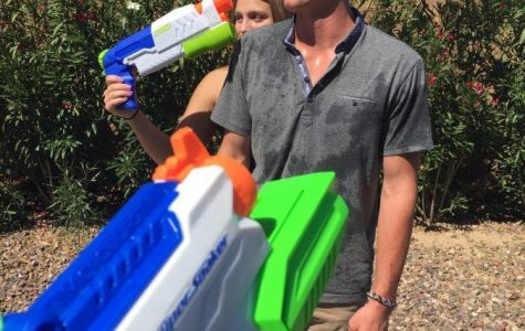 Senior Assassins; Water Gun Fight