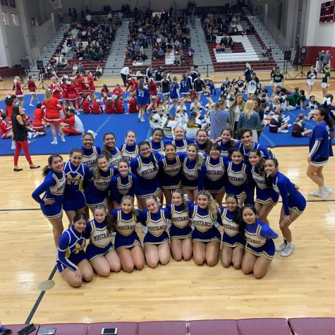 Manville Mustang Cheerleaders Take On Skylands Competition