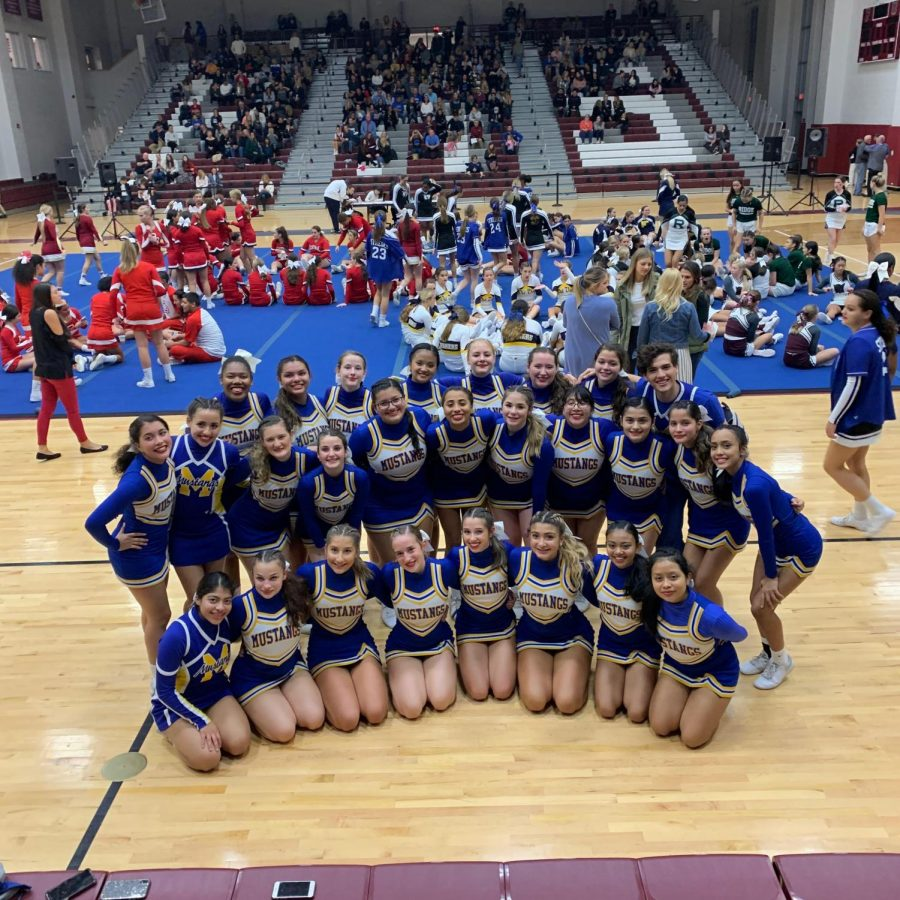 Manville Mustang Cheerleaders Take On Skylands Competition