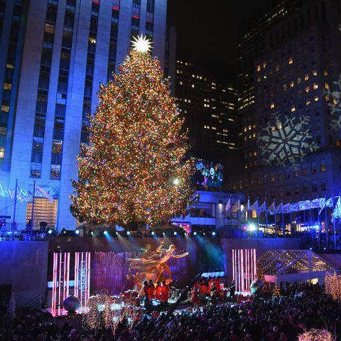 New York City's 87th Rockefeller Christmas Tree