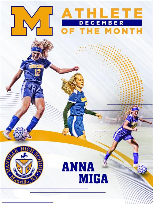 December Athlete of the Month: Anna Miga