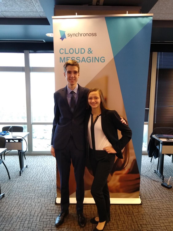 Student Spotlight: Piotr Bunkowski and Nicole Bak Qualify in FBLA Junior Achievement Titan Regional Finals