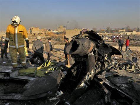 Ukrainian Airplane Crashes Near Iran's Capital, Killing 176