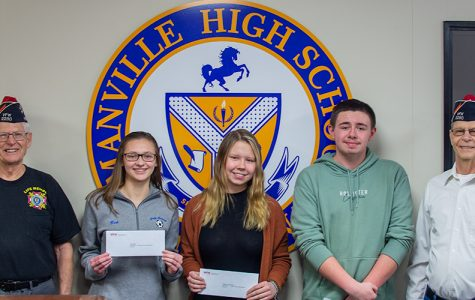 VFW Scholarship Recipients from MHS