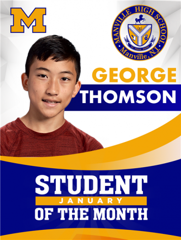 January Student of the Month: George Thomson