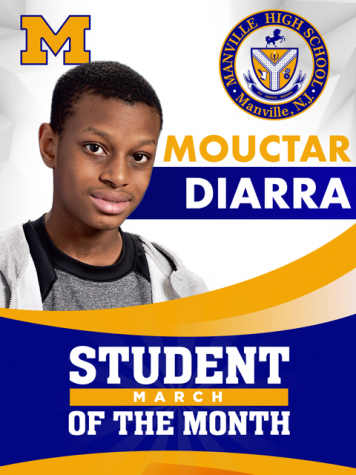 March Student of the Month: Mouctar Diarra