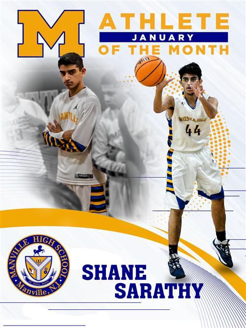 Athlete of February: Shane Sarathy