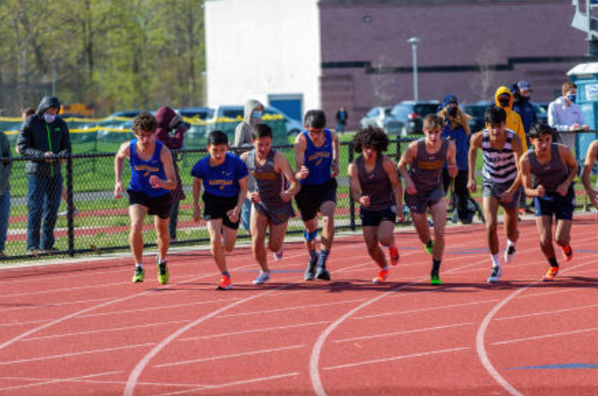The First Spring Track & Field Meet of the Season