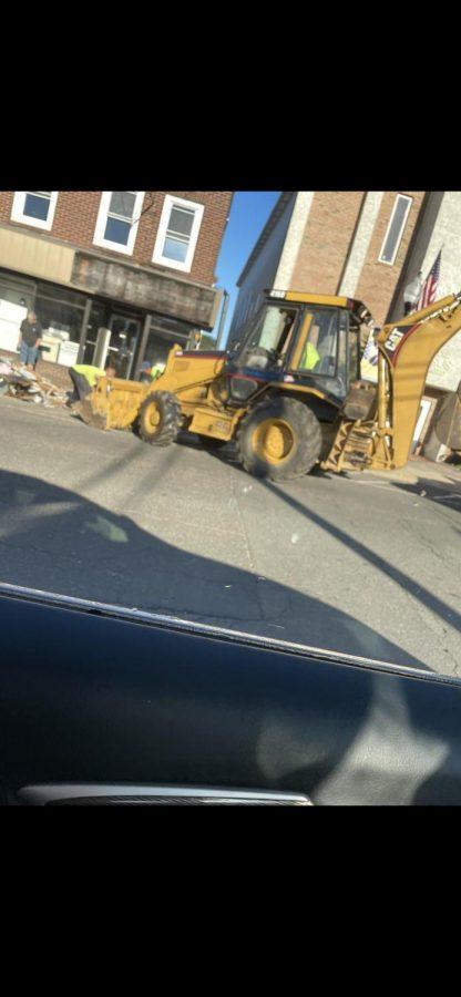 Disastrous Floods leave most of Manville NJ in Destruction