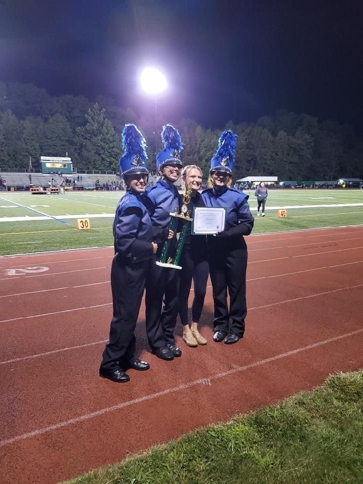 Manville High School Marching Band Takes On the 2021-2022 School Year